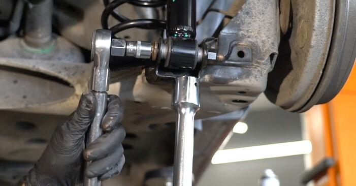 Kaip pakeisti Spyruoklės OPEL Corsa D Hatchback (S07) 2011: atsisiųskite PDF instrukciją ir vaizdo pamokas