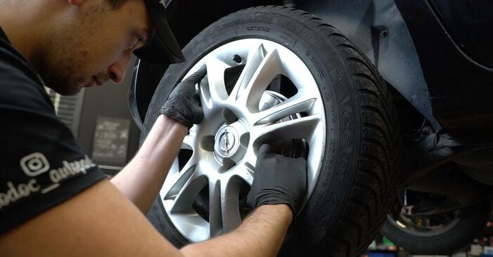 Išsamios Opel Corsa D 2010 1.3 CDTI (L08, L68) Spyruoklės keitimo rekomendacijos
