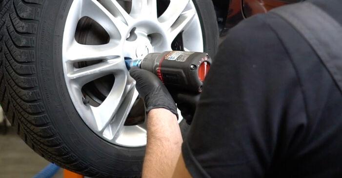 Savarankiškas OPEL Corsa D Hatchback (S07) 1.0 (L08, L68) 2009 Spyruoklės keitimas