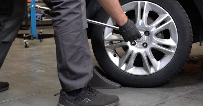 Slik bytter du OPEL Corsa D Hatchback (S07) 1.3 CDTI (L08, L68) 2007 Støtdemper selv – trinn-for-trinn veiledninger og videoer