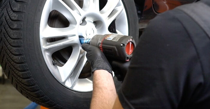 Hvordan bytte Støtdemper på OPEL Corsa D Hatchback (S07) 1.0 (L08, L68) 2009 selv