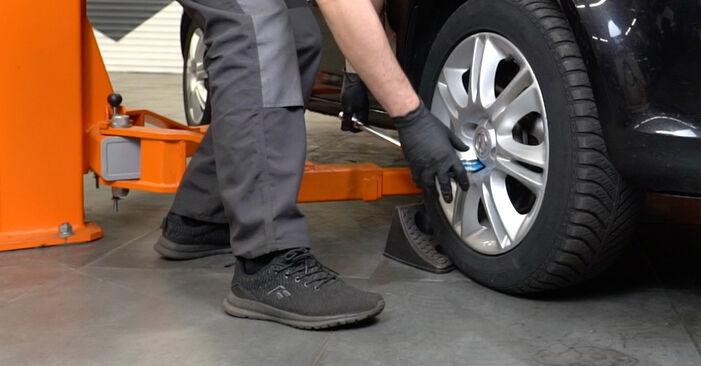 Corsa D Hatchback (S07) 1.3 CDTI (L08, L68) 2008 Fjeder gør-det-selv udskiftnings værksted manual