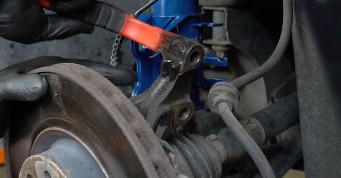 Hvordan man udskifter Fjeder på Opel Corsa D 2006 - gratis PDF og video manualer