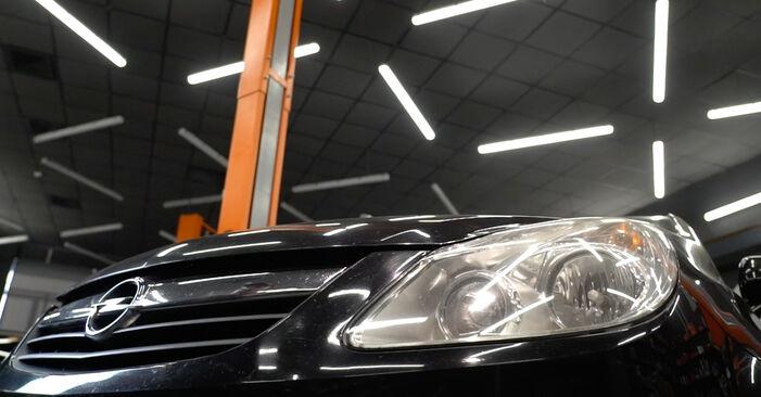 Udskiftning af Fjeder på Opel Corsa D 2007 1.3 CDTI (L08, L68) ved gør-det-selv indsats
