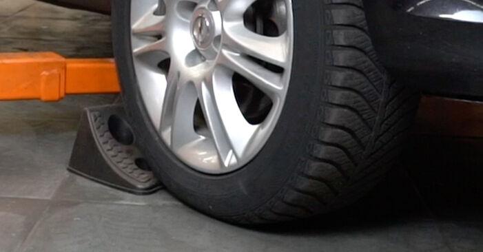 Austauschen Anleitung Stoßdämpfer am Opel Corsa D 2007 1.3 CDTI (L08, L68) selbst