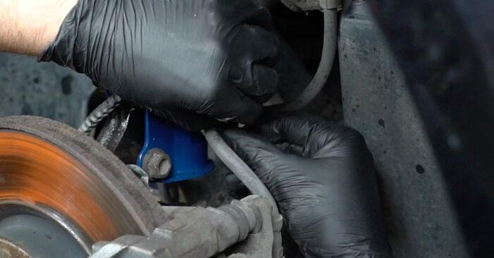 Stoßdämpfer Ihres Opel Corsa D 1.3 CDTI (L08, L68) 2014 selbst Wechsel - Gratis Tutorial