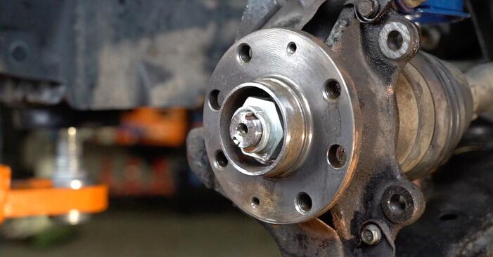 Смяна на Opel Corsa D 1.2 (L08, L68) 2008 Спирачен диск: безплатни наръчници за ремонт