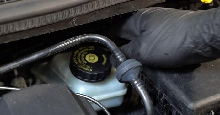 Come sostituire OPEL Corsa D Hatchback (S07) 1.3 CDTI (L08, L68) 2007 Dischi Freno - manuali passo passo e video guide