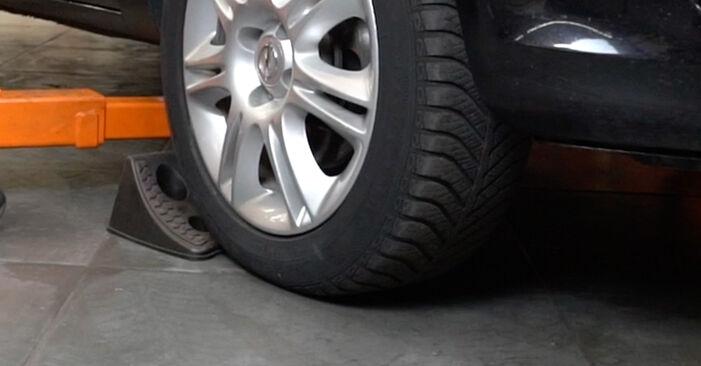 Wie Koppelstange Opel Corsa D 1.3 CDTI (L08, L68) 2006 tauschen - Kostenlose PDF- und Videoanleitungen