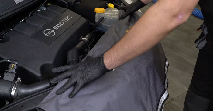 Cum să mentenanța Bujie incandescenta OPEL Corsa D Hatchback (S07) 1.3 CDTI (L08, L68) 2007 – manualele pas cu pas și ghidurile video