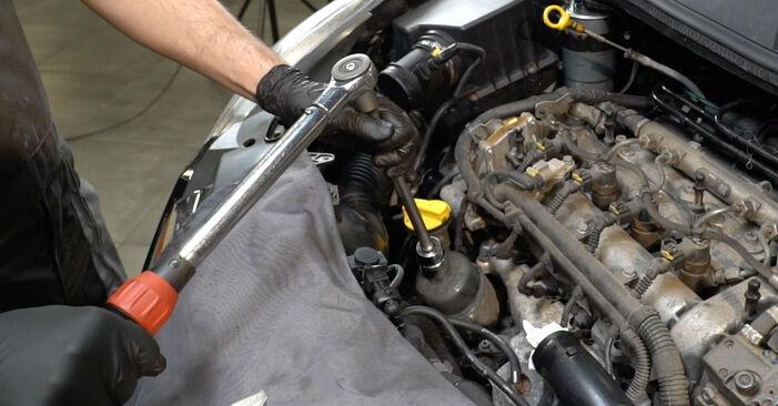 Tidsforbruk: Bytte av Oljefilter på Opel Corsa D 2014 – informativ PDF-veiledning