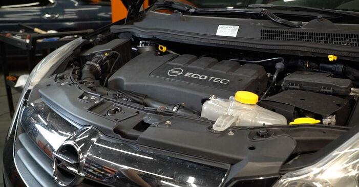 Trinn-for-trinn anbefalinger for hvordan du kan bytte Opel Corsa D 2010 1.3 CDTI (L08, L68) Oljefilter selv