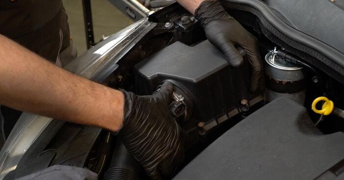 Schritt-für-Schritt-Anleitung zum selbstständigen Wechsel von Opel Corsa D 2010 1.3 CDTI (L08, L68) Luftfilter