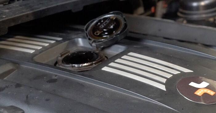 Substituindo Filtro de Óleo em BMW E82 2008 120d 2.0 por si mesmo
