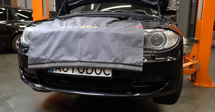 Trocar Filtro de Óleo no BMW 1 Coupe (E82) 118d 2.0 2009 por conta própria