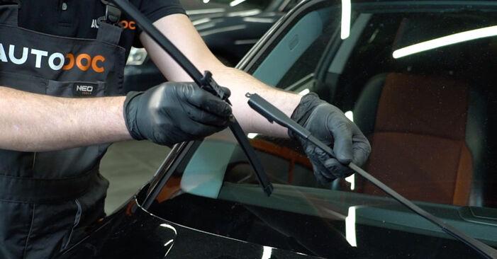 Wechseln Scheibenwischer am BMW 1 Coupe (E82) 118d 2.0 2009 selber