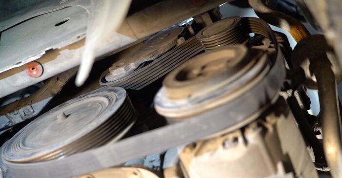 Kaip pakeisti Paskirstymo diržas / komplektas la Ford Fiesta Mk6 2008 - nemokamos PDF ir vaizdo pamokos