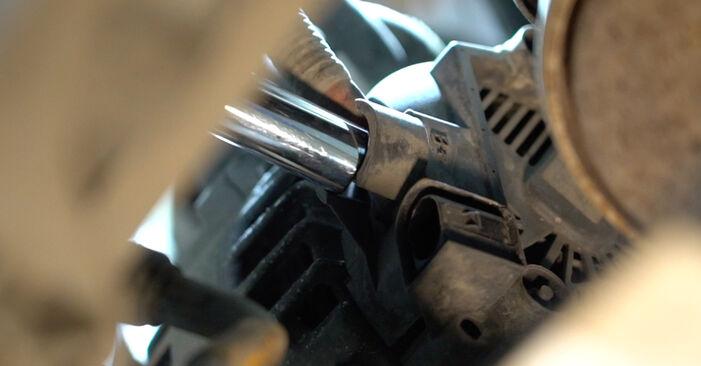 Kaip pakeisti FORD Fiesta Mk6 Hatchback (JA8, JR8) 1.25 2009 Paskirstymo diržas / komplektas - išsamios instrukcijos ir vaizdo pamokos
