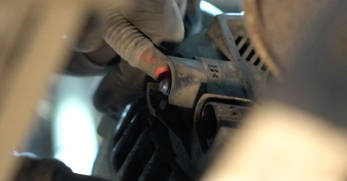 Ford Fiesta Mk6 1.4 TDCi 2010 Paskirstymo diržas / komplektas keitimas: nemokamos remonto instrukcijos