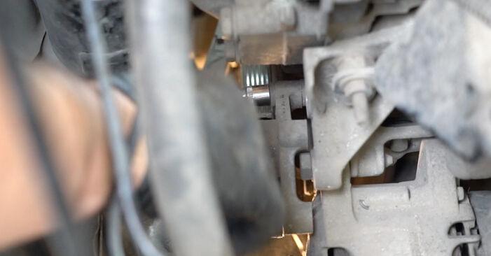 Ford Fiesta Mk6 2018 1.25 Paskirstymo diržas / komplektas keitimas savarankiškai