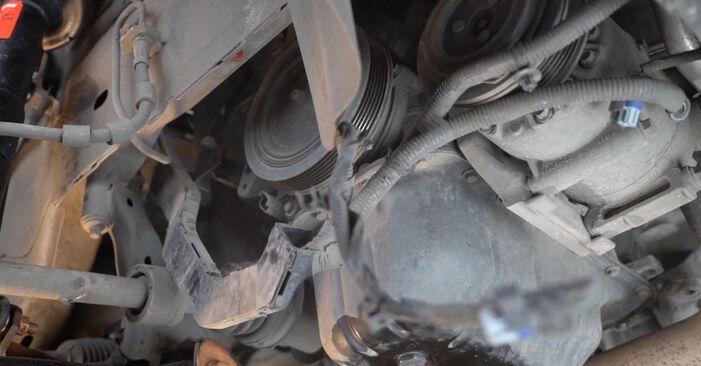 Išsamios Ford Fiesta Mk6 2021 1.4 LPG Paskirstymo diržas / komplektas keitimo rekomendacijos