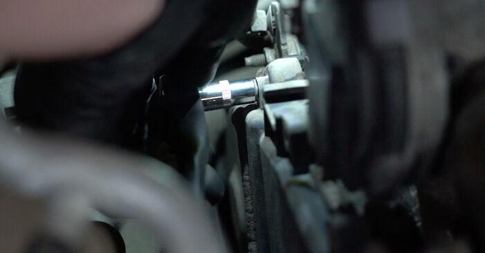 Ar sudėtinga pasidaryti pačiam: Ford Fiesta Mk6 1.4 2014 Paskirstymo diržas / komplektas keitimas - atsisiųskite iliustruotą instrukciją