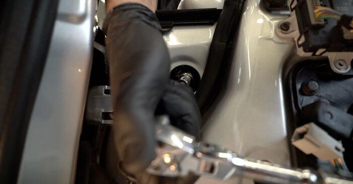 Trinn-for-trinn anbefalinger for hvordan du kan bytte Ford Fiesta Mk6 2021 1.4 LPG Sidespeil selv