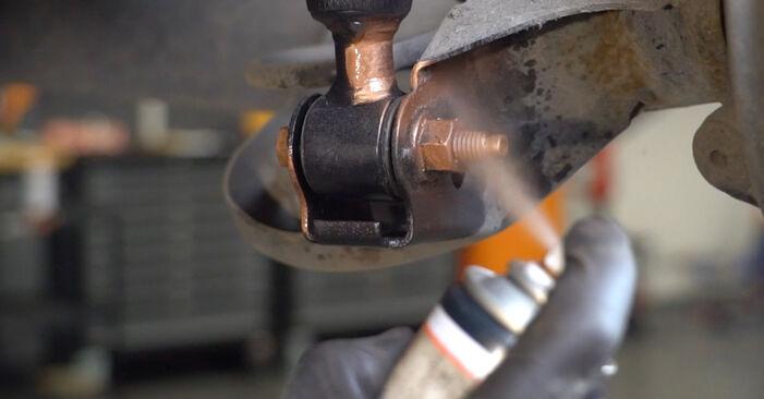 Hvordan bytte Støtdemper på FORD Fiesta Mk6 Hatchback (JA8, JR8) 1.5 TDCi 2011 selv