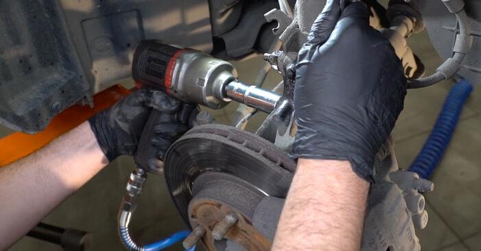 Stoßdämpfer Ford Fiesta Mk6 1.6 TDCi 2010 wechseln: Kostenlose Reparaturhandbücher