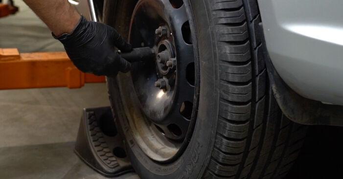 Stoßdämpfer am FORD Fiesta Mk6 Schrägheck (JA8, JR8) 1.0 EcoBoost 2013 wechseln – Laden Sie sich PDF-Handbücher und Videoanleitungen herunter