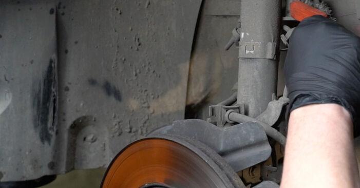 SEAT IBIZA 1.9 SDI Stoßdämpfer ausbauen: Anweisungen und Video-Tutorials online