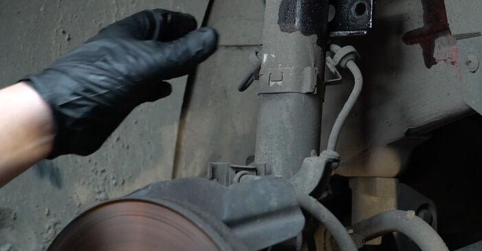 Ibiza III Schrägheck (6L) 1.4 TDI 2005 1.4 16V Stoßdämpfer - Handbuch zum Wechsel und der Reparatur eigenständig