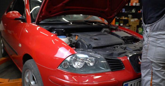 Hvordan skifte Bremseklosser på Seat Ibiza 6l1 2002 – gratis PDF- og videoveiledninger