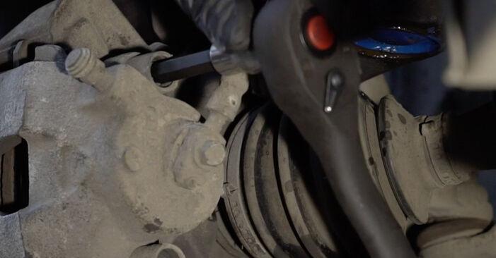 Bremsscheiben beim SEAT IBIZA 1.4 16V 2009 selber erneuern - DIY-Manual