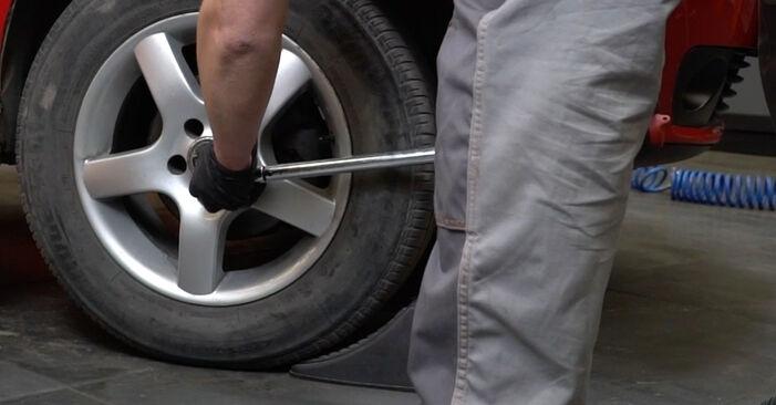 Wechseln Koppelstange am SEAT Ibiza III Schrägheck (6L) 1.9 SDI 2005 selber