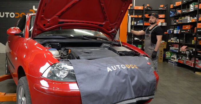 Koppelstange Seat Ibiza 6L1 1.2 2004 wechseln: Kostenlose Reparaturhandbücher
