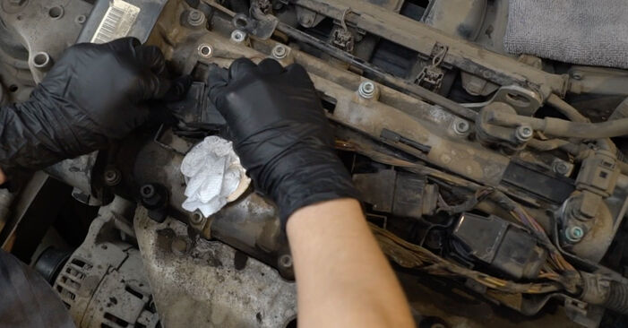 Kaip pakeisti Uždegimo žvakė SEAT Ibiza III Hatchback (6L) 2007: atsisiųskite PDF instrukciją ir vaizdo pamokas