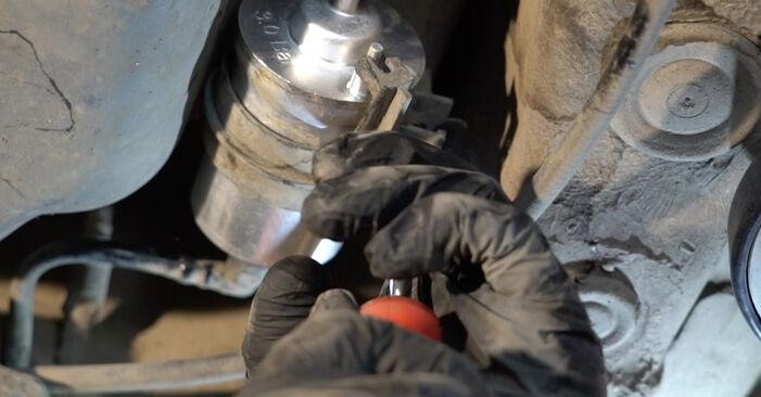 SEAT IBIZA 1.2 Brændstoffilter udskiftning: online vejledninger og video læringslektioner