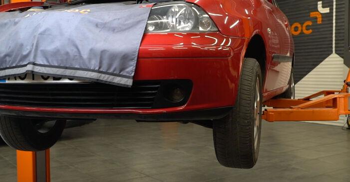 Seat Ibiza 6l1 1.4 16V 2004 Alyvos filtras keitimas: nemokamos remonto instrukcijos