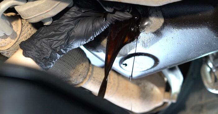SEAT IBIZA 2009 Alyvos filtras išsami keitimo instrukcija