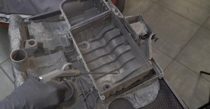 Luftfilter Ihres Seat Ibiza 6L1 1.2 2002 selbst Wechsel - Gratis Tutorial
