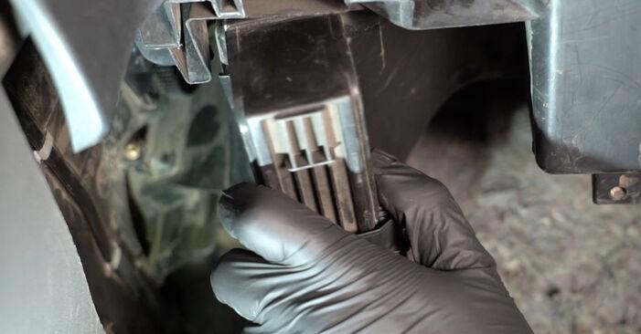 Innenraumfilter Seat Ibiza 6L1 1.2 2004 wechseln: Kostenlose Reparaturhandbücher