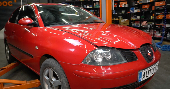 How to change Springs on Seat Ibiza Mk3 2002 - free PDF and video manuals
