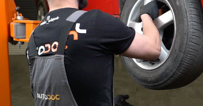 Changing of Springs on Seat Ibiza Mk3 2002 won't be an issue if you follow this illustrated step-by-step guide