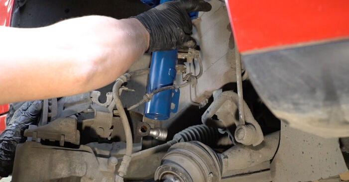 How to replace SEAT Ibiza III Hatchback (6L) 1.9 TDI 2003 Springs - step-by-step manuals and video guides