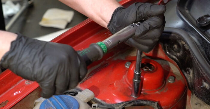 Ibiza III Hatchback (6L) 1.4 TDI 2005 Springs DIY replacement workshop manual