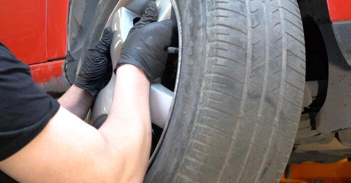 Kaip nuimti SEAT IBIZA 1.4 TDI 2006 Amortizatoriaus Atraminis Guolis - nesudėtingos internetinės instrukcijos