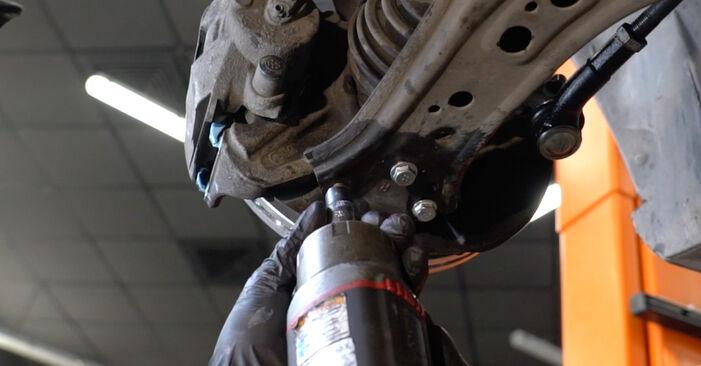 Wie Traggelenk SEAT Ibiza III Schrägheck (6L) 1.4 16V 2003 austauschen - Schrittweise Handbücher und Videoanleitungen