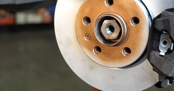 Traggelenk am SEAT Ibiza III Schrägheck (6L) 1.9 TDI Cupra R 2007 wechseln – Laden Sie sich PDF-Handbücher und Videoanleitungen herunter