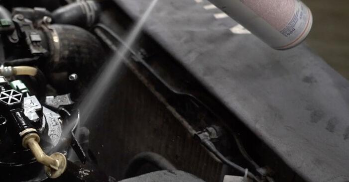 Kraftstofffilter am PEUGEOT 307 SW (3H) 2.0 HDI 90 2007 wechseln – Laden Sie sich PDF-Handbücher und Videoanleitungen herunter